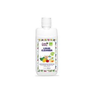 BeeBaby Natural Liquid Cleanser for Baby Bottles, Accessories, Nipples, Fruits & Veggies | 500ML