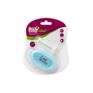 Beebaby Soft Silicone Finger Brush With Carry Case