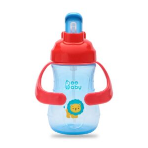 BeeBaby Flippy Straw Sippy Cup With Handle 250ML 9Oz.