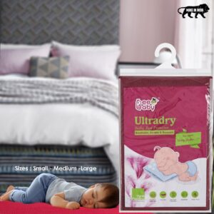 BeeBaby UltraDry Baby Bed Protector / Dry Sheet Small Size